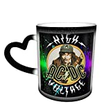 XCNGG A-C-D-C Tazza da caffè ad alta tensione / Tazza da tè / Tazza che cambia colore sensibile al calore Tazza / Tazza che cambia calore / Tazza in ceramica ad indizio sensibile al calore / Tazza che