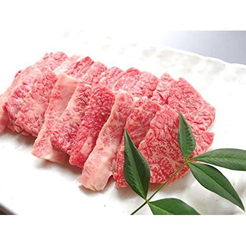 厳選 【 黒毛和牛 メス 牛 限定 】 ギフト用 牛 カルビ 焼肉 ( 天然 竹皮包装 )500g