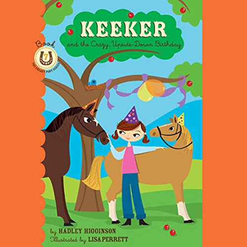 Keeker and the Sneaky Pony  audiobook cover art