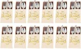 Stephanie Imports Set of 12 Thanksgiving Give Thanks Cutlery Paper Holders (7.5' X 4.75')