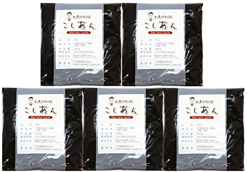 アサヒ 北海道産小豆100%使用 こしあん 500g