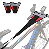 Thinvik [2-Pack Bike Frame Sweat Guard Sweat Absorbs Prevent Bicycle from Corrosion for Bicycle Trainer Indoor Cycling Training