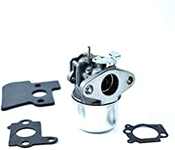 Carburetor for Briggs & Straton 690152 694203 698055 Lawnmower Generator Used on 121600 and Up Series Engines Manuel Choke with Mounting Gaskets