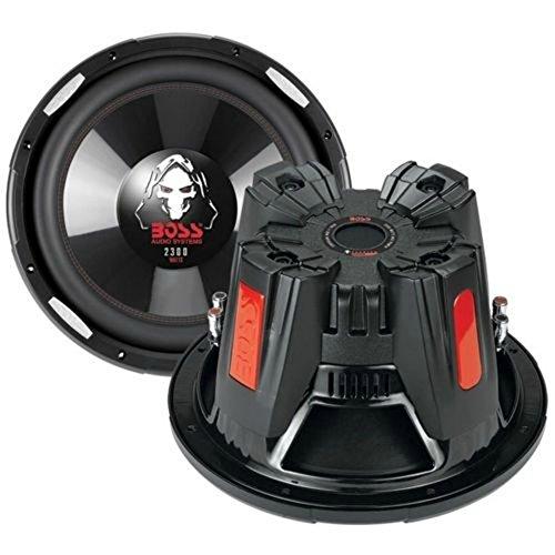 SUB SUBWOOFER BOSS AUDIO SYSTEM P126DVC DA 30 CM 300 MM 12  DI DIAMETRO DA 1150 WATT RMS E 2300 WATT MAX DOPPIA BOBINA DA 4 + 4 OHM DVC DUAL VOICE COIL