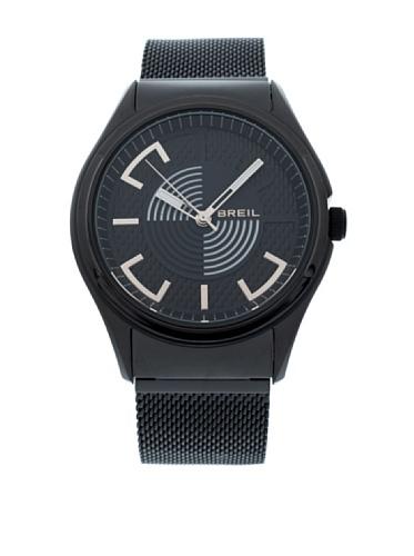 Breil TW1062 - Reloj analógico de Cuarzo para Hombre, Correa de Otros Materiales Color Negro