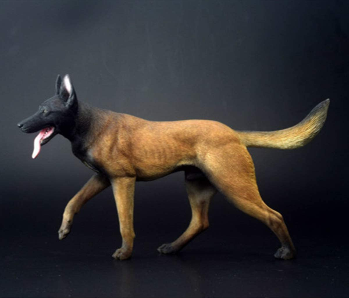 1 6 Popular product Working Dog Belgian depot Malinois Realist Pet Animal Model Figure