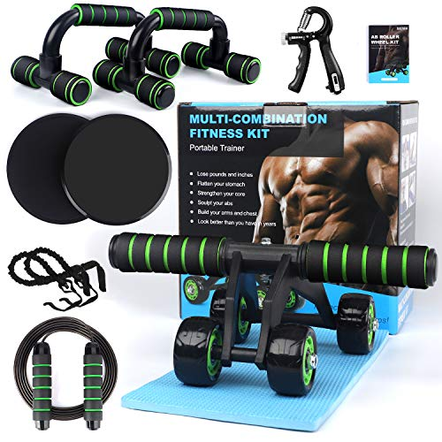 7-in-1 Ab Abdominal Exercise Rol...