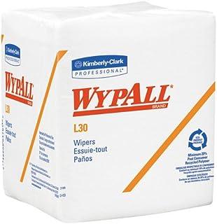 KIMBERLY-CLARK PROFESSIONAL* 05812 WYPALL L30 Economizer 1/4-fold Wipes- 12-1/2 x 13- 90/Box- 12/Carton
