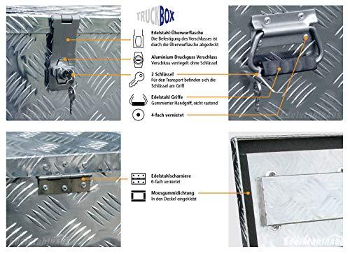 Truckbox D040 Werkzeugkasten, Transportbox, Alubox, Alukoffer - 7