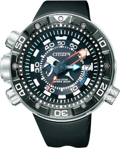 Citizen BN2024-05E - Reloj, Correa de Goma Color Negro