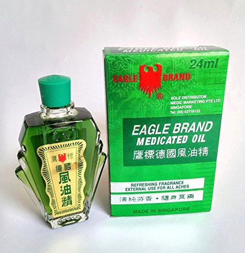 EAGLE BRAND MEDICATED OIL 24ML (O.8 OZ)