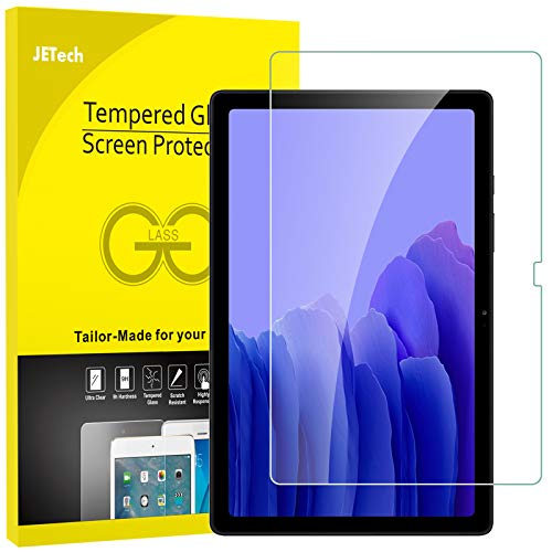 JETech Screen Protector Compatible with Samsung Galaxy Tab A7 (10.4-Inch, 2020 Model, SM-T500/ T505/ T507), Tempered Glass Film, 1-Pack