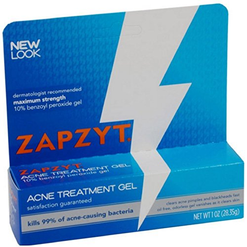 ZAPZYT Acne Gel 1 oz (Pack of 3)