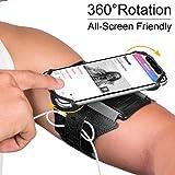 VUP Running Armband, 180° drehbar, Universal Handy Halterung, Kompatibel mit alle 4-6.5 Zoll...