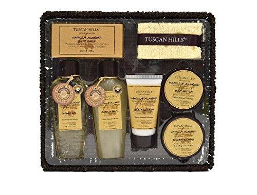 Tuscan Hills Vanilla Almond Bath & Body Set