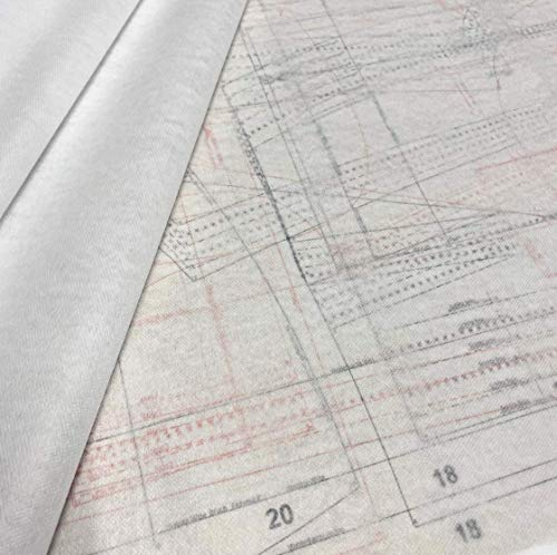 Schnittmuster-Vlies 2 Bögen in der Größe von 2m x 1,5m waschbar: 60°C Material: 100% PES
