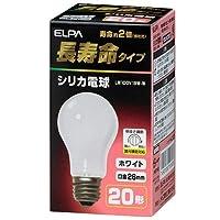 ELPA 長寿命シリカ 朝日電器 【品番】LW100V19W-W