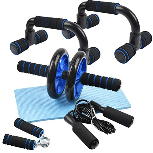 BUYGOO Home Exercise Equipment Set for Men and Women Abdominal Core...