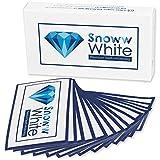 [ Zweifacher Testsieger ] Zahnaufhellung White Stripes - Weiße Zähne In Wenigen Tagen - Zahnschonende Whitestrips - 28 Bleaching Strips