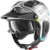 HE2605EWBYM - Shark X-Drak Freestyle Open Face Motorcycle He