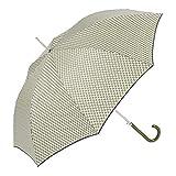 Ezpeleta paraguas largo antiviento de mujer|automático|estampado espiga (verde)
