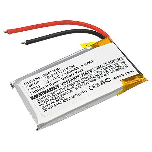 CELLONIC® Qualitäts Akku kompatibel mit Jabra GN9330, Netcom 9330, 1S1P051730PCM (180mAh) Ersatzakku Batterie