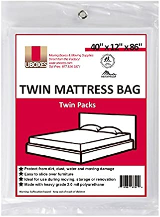 Uboxes Twin Size Mattress Covers, 40