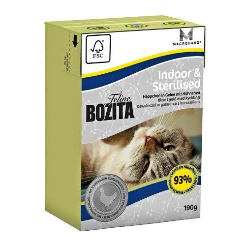 Bozita Cat Tetra Recard Indoor & Sterilised 190g