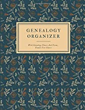 Genealogy Organizer With Genealogy Charts And Forms, Family Tree Charts: Perfect Genealogy Gift For Family History Buff & Genealogists; My Heritage ... Tree Of Life Journal; Ancestry Workbook