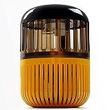HOOPOO Zanzariere fotocatalizzatore, Lampada Neon zanzara Incinta, Giallo + Nero 160 * 160 * 259