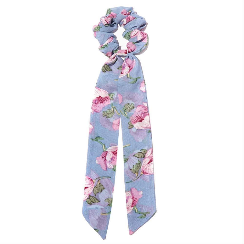 flower headband elastic hair bands headbands for girls scrunchie band women head ties bandeau bandanas bows fashion ponytai