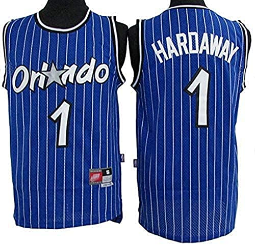 XSJY NBA Men's Basketball Jersey - Orlando Magic NBA 1# Penny Jerseys Haraway Jerseys Unisex Chalecos Casuales Deportes Tops Sin Mangas Camisetas,B,XL:180~185cm/85~95kg