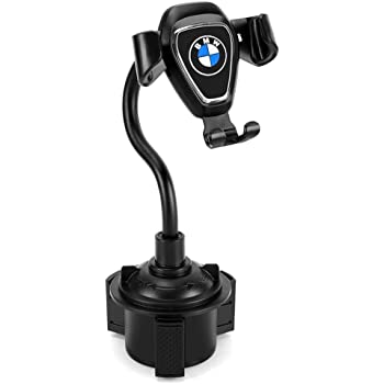 [Upgraded] Car Cup Holder Phone Mount Upgraded Adjustable Universal Cup Holder Cradle Car Mount for Cell Phone fit BMW, Compatible with iPhone Xs XS Max XR X 8 8plus 7 7 Plus Samsung