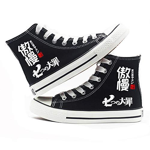 pZgfg Chaussures en Toile The Seven Deadly Sins Anime...