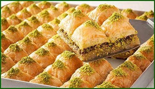 Premium Baklava mit Pistazien und Walnuss nach traditionellem Hausrezept (500 gr.)