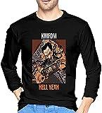 KMFDM Hell Yeah Men Long Sleeve T Shirt 100% Cotton Comfortable tee