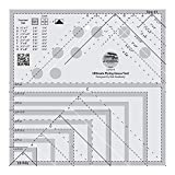 8705 - Part of The Marti Michell Perfect Patchwork System for Quilting 8022 Marti Michell Flying Geese Quilting Ruler Bundled with Small Flying Geese Quilting Ruler