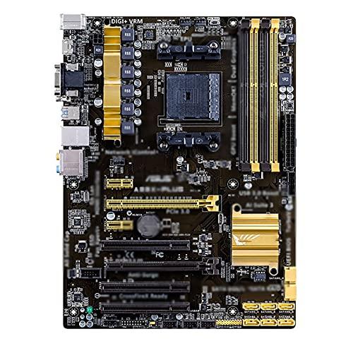 SRR Placa Base A88X-PLUS 100% zócalo Original FM2 FM2 + DDR3 64GB SATAIII PCI-E 3.0 para Placa Base de computadora de Escritorio AMD A88, Fit for ASUS, Placa Base