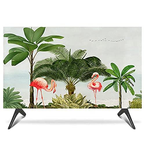 Modern Simplicidad Cubierta De Tv Interior 19 '' - 65 '' A Prueba De Polvo A Prueba De Polvo Tela Tv Tv Protector De Pantalla Tv Tapa De Pantalla Para Pantalla Plana / Cu(Size:47-50 in [W 116-H 67cm])