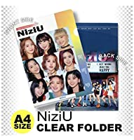 NIZIU (ニジュー) クリア フォルダー/ファイル (Clear Folder/File) [A4 SIZE] グッズ