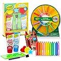 Color Shop Crayola Bath Paint Toy Bundle Bathtub Activity Set - Ultimate 20 Pc Bath Toys with Crayola Bath Finger Paint, Sponges, Reward Stickers, and More