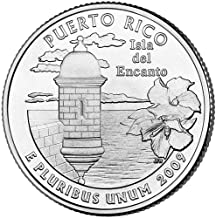2009 P Satin Finish Puerto Rico Territory Quarter Choice Uncirculated US Mint