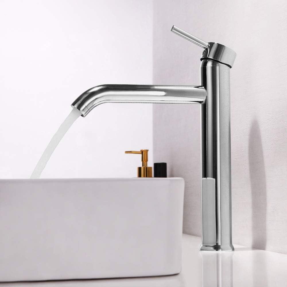 LXGANG Faucet Modern Copper Chrome Vertical wit Countertop Bargain Time sale Basin