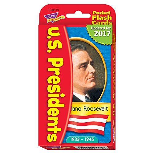 US Presidents Pocket Flash Cards