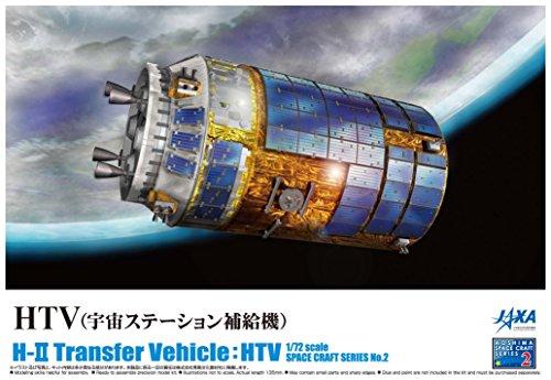 HTV (H-II Transfer Vehicle) (Plastic model) 1/72