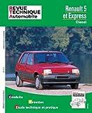 E.T.A.I - Revue Technique Automobile 480.5 - RENAULT EXPRESS/R5 - 1985 à 2000 - Diesel