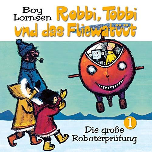 Die große Roboterprüfung Titelbild