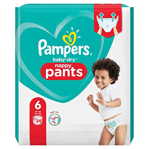 Pampers 81713122 Baby-Dry Pants windelhose, weiß