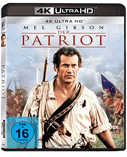 Der Patriot - Mel Gibson (4K Ultra HD) [Alemania] [Blu-ray]