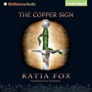 The Copper Sign audiobook cover art